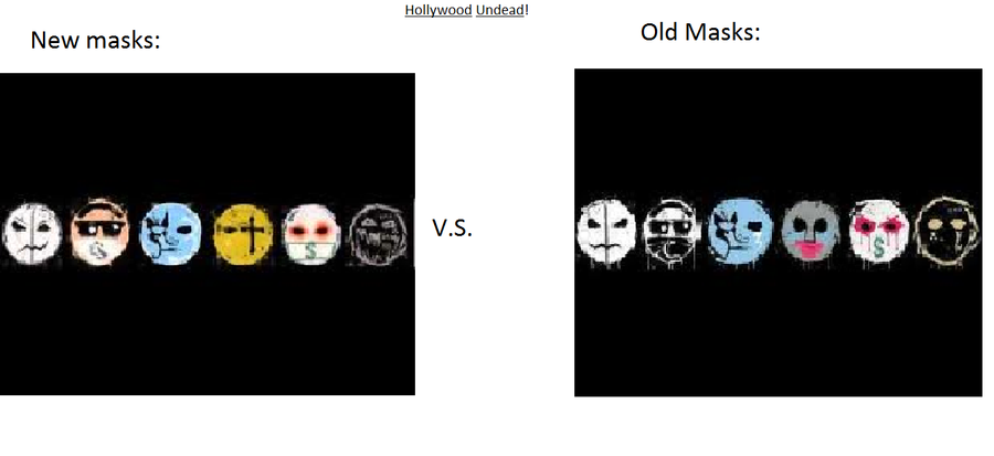 Hollywood Undead Masks By Bloodclaw006