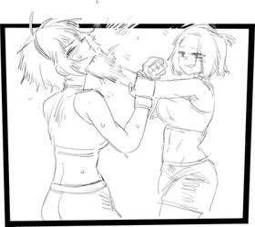 Dif vs Sun(mma match) 2
