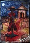 Human scarecrow Inktober