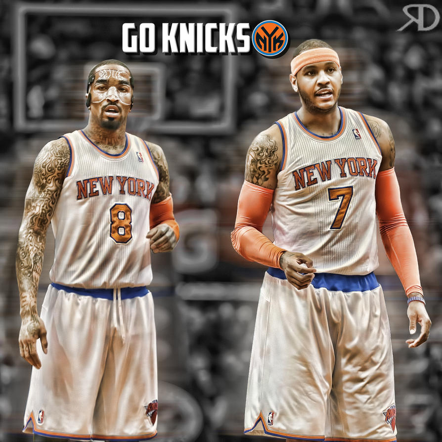JR Smith-Carmelo Anthony by RonsellDesign on DeviantArt
