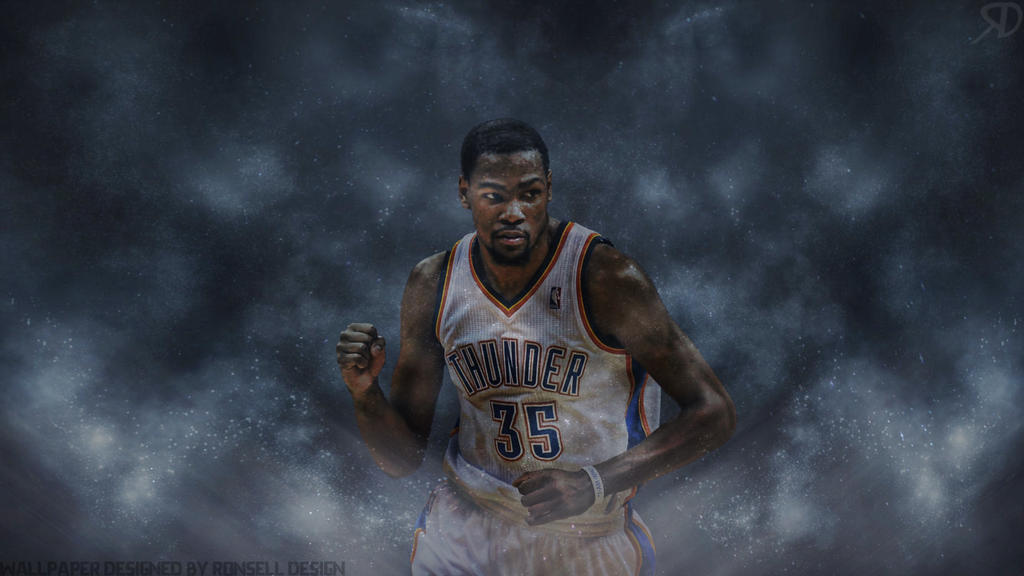 kevin durant wallpaper by ronselldesign on deviantart