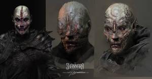 THE SHANNARA CHRONICLES heads 3