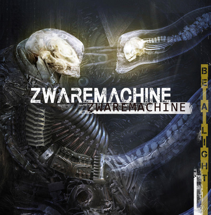 CD COVER ART : ZWAREMACHINE ALBUM by Sallow