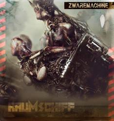 CD COVER ART  : ZWAREMACHINE EP