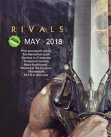 RIVALS NEW ART BOOK COMING SOON by Sallow