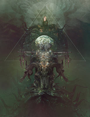 The Four Disciples of Cthulhu by Sallow