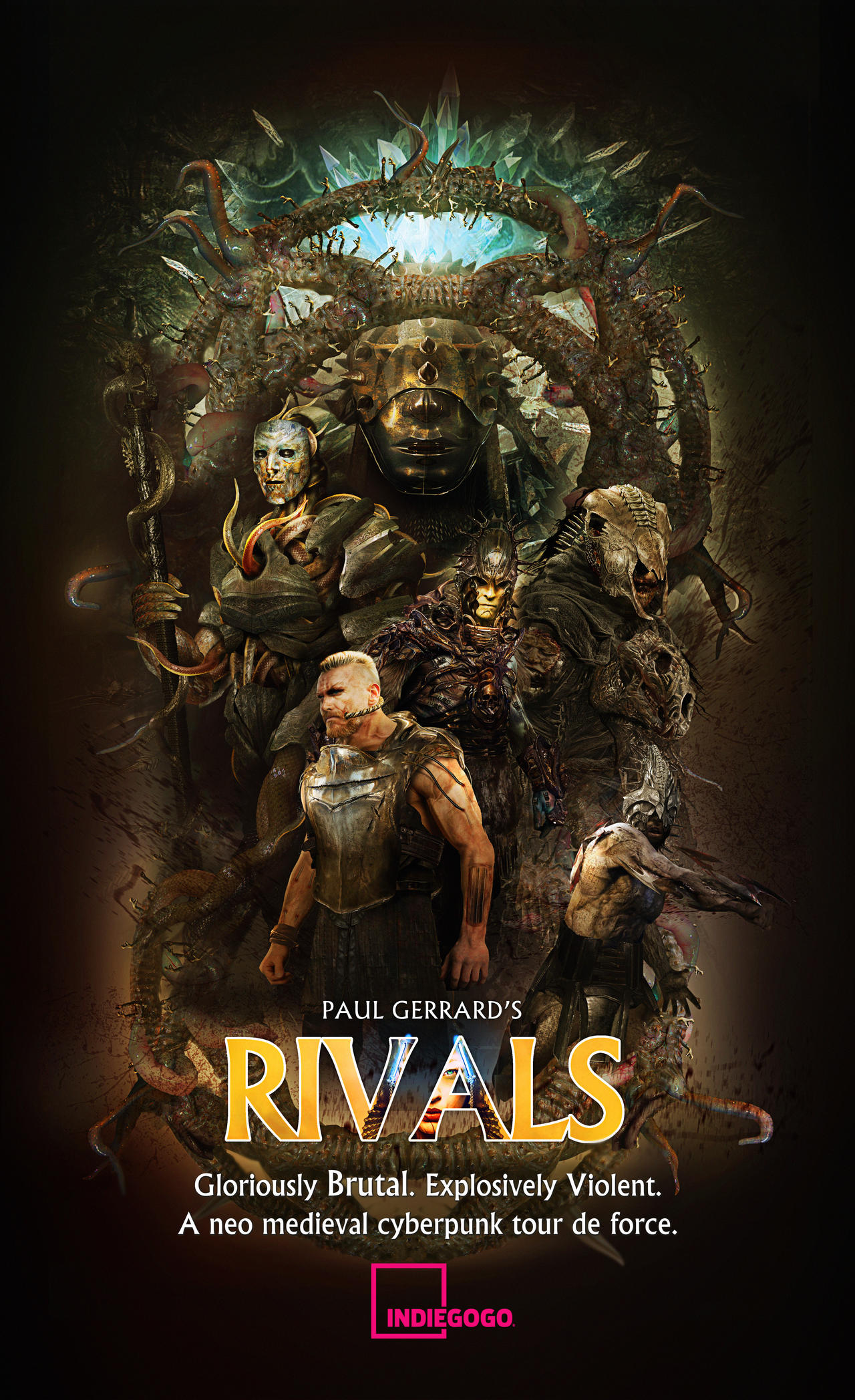 RIVALS POSTER : TV ON CROWD FUNDER NOW