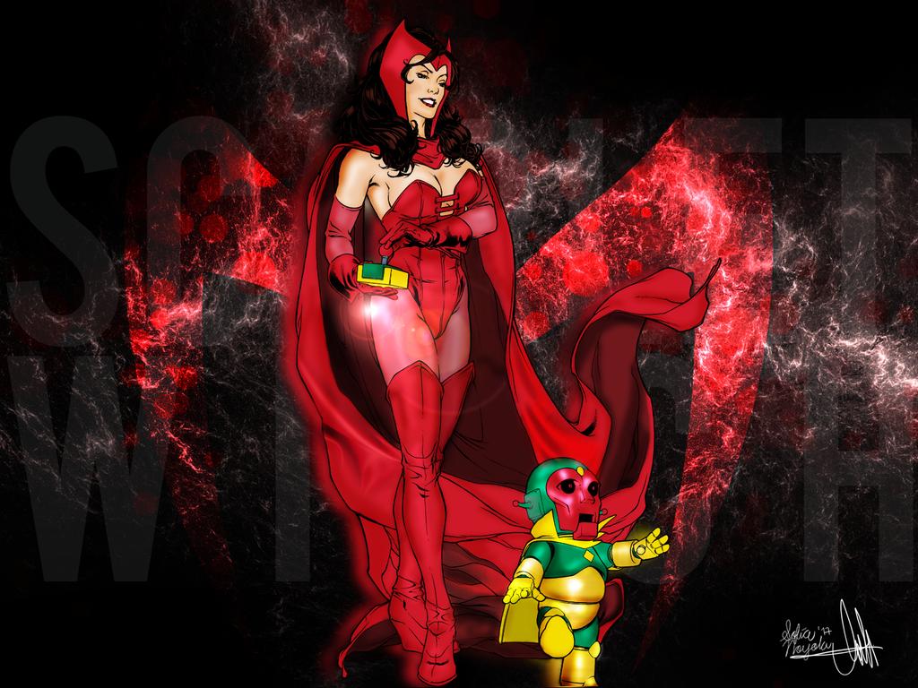 Scarlet Witch FanArt by Sofia Noyola. by SoNoyolaM
