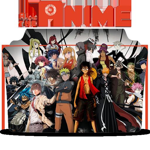 Anime Icon Folder By Tobinami On Deviantart: Anime Icon Folder V1 By Mohandor On DeviantArt