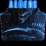 Aliens Movie Collection Icon Folder