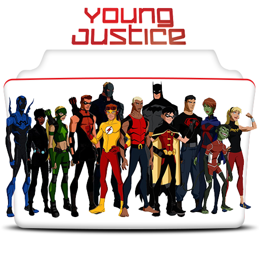 Icon Young Justice Young Justice Icon Fol...