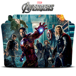 The Avengers Movie Collection Icon Folder