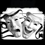 Drama Movie Collection Icon Folder