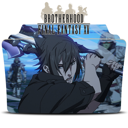 Final Fantasy Xv Brotherhood Icon Folder By Mohandor On Deviantart