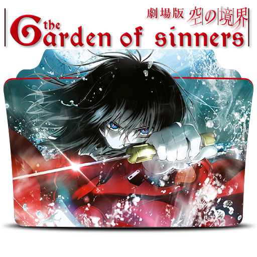 The Garden Of Sinners Icon Folder By Mohandor On Deviantart