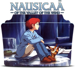 Nausicaa of the valley of the wind Icon Folder