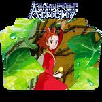 The secret world of Arrietty Icon Folder