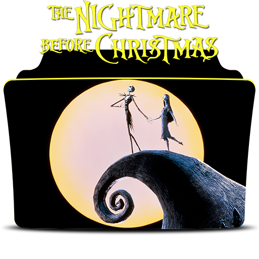 Nightmare Before Christmas Icons.The Nightmare Before Christmas Icon Folder By Mohandor On