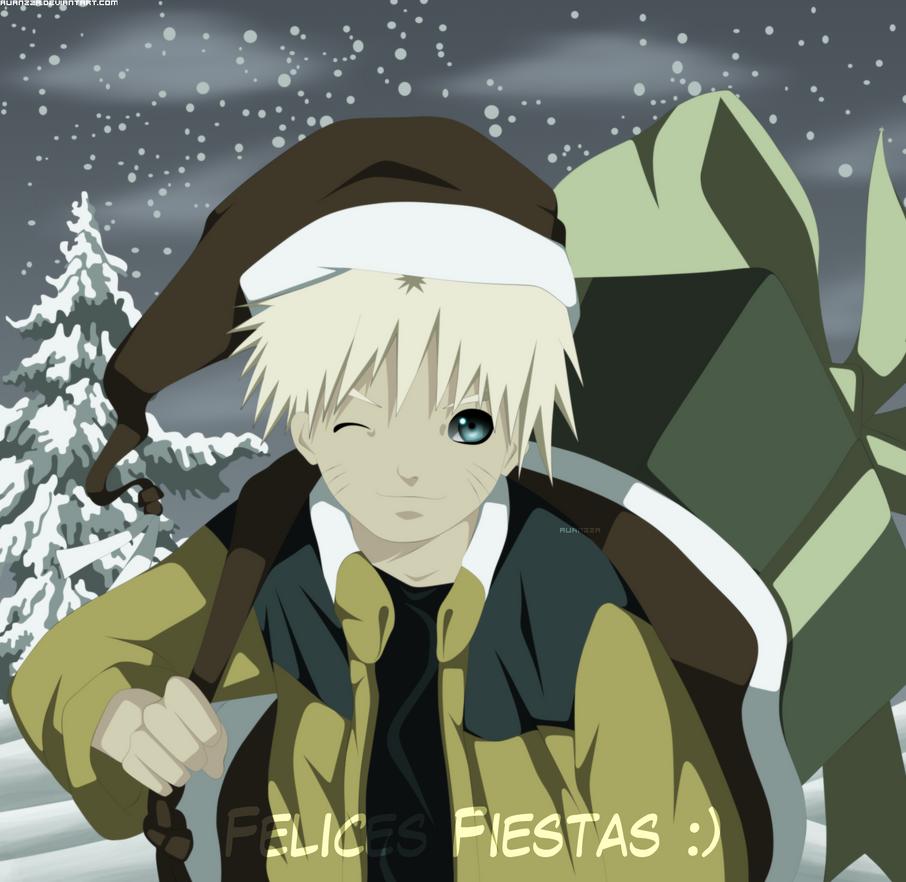 Naruto Happy Holiday by Alianzza
