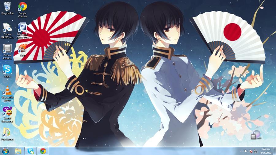 My Desktop Wallpaper-Kiku Honda/Japan by ppgluver125 ...