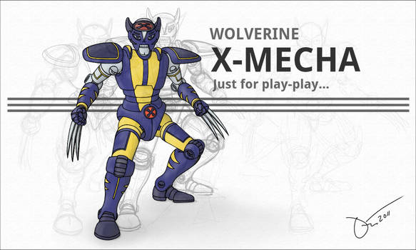 Wolverine X-Mecha
