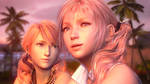 Serah and Vanille - FF XIII