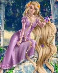 Rapunzel by AbbeysHollow