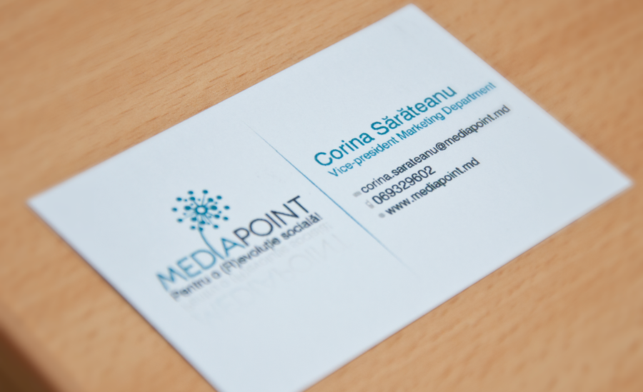 A very simple business card by PerSeM on DeviantArt