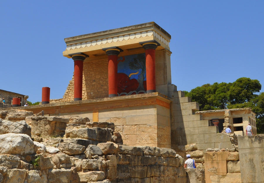 Minoan Palace of Knossos by karenkilby on DeviantArt