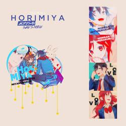Izumi and Kyoko / Horimiya Shoujo by Shuuri-kun