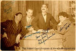 Autographed Marx Brothers