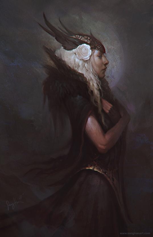 Dark Valkyrie by fluxen