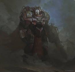 Soldier of Barrens by fluxen