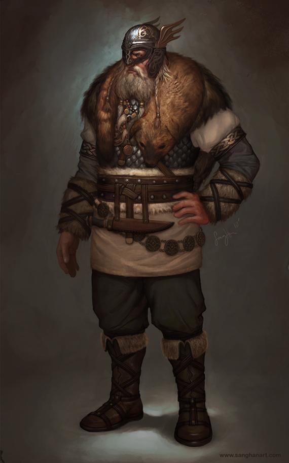 Civilization V Denmark Leader by fluxen