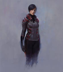 SciFi Female by fluxen