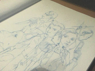 Sketches by fluxen