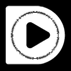 white potplayer icon