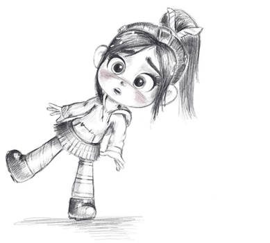 Vanellope - Outta Time!
