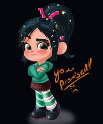 Vanellope - You Promised!