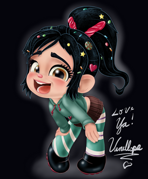 Vanellope - Hey! I'm a Real Racer Now!