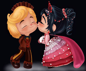Vanellope and Rancis - Thanks for the Dances!