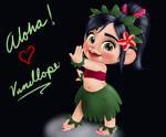 Vanellope - Aloha!