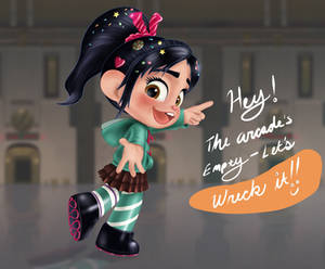 Vanellope - Game Jumping