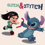 Vanellope - Glitch and Stitch