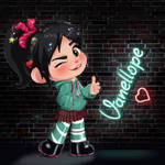 Vanellope - Downtown Girl
