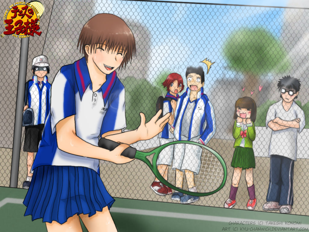 :C: Tenisu no Sukaato by Kyu-chanwich