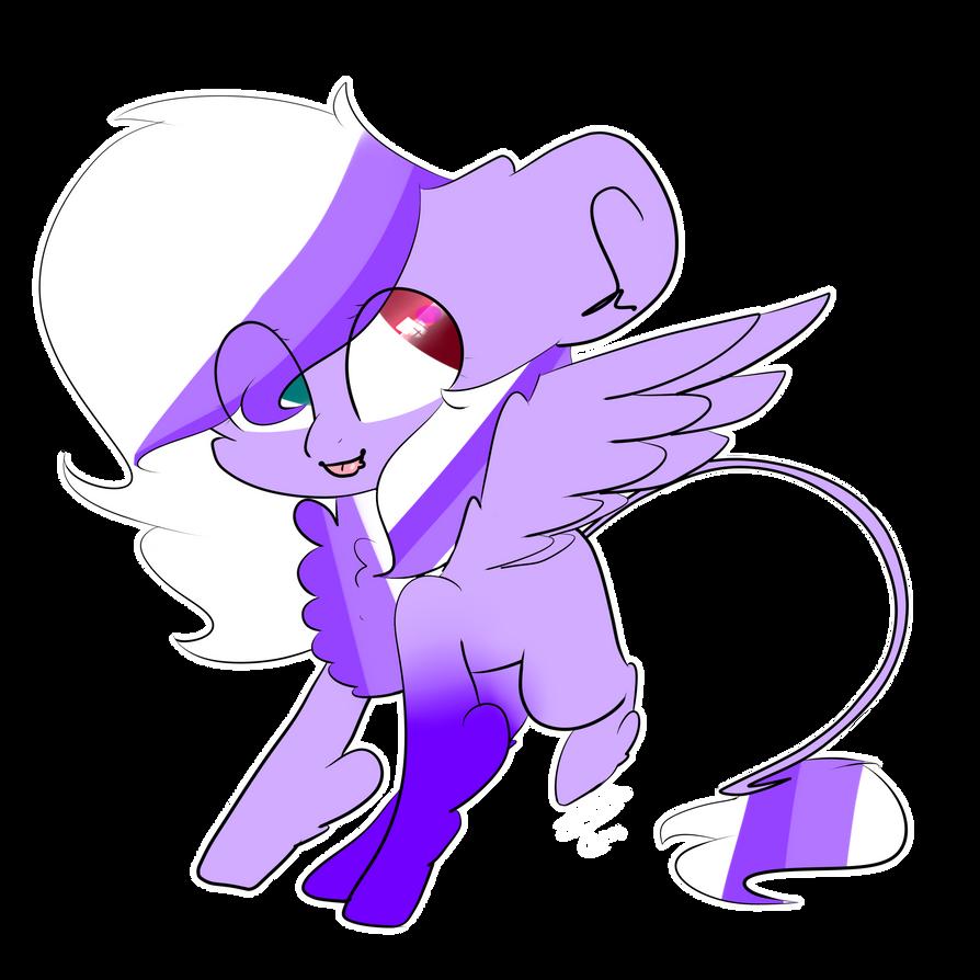 Oc- Purple Dreams by Diamondthegreatpapyr
