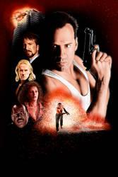 Die Hard alternative fan poster