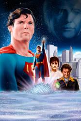 Superman The Movie alternative fan poster