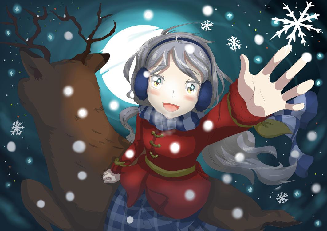 I See Moon In Winter by selamatnesi